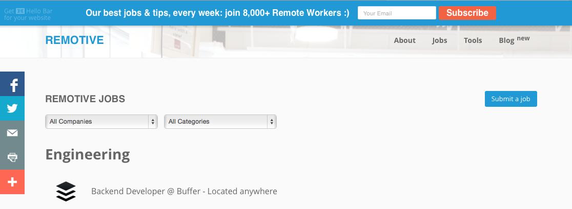 Remotive Jobs