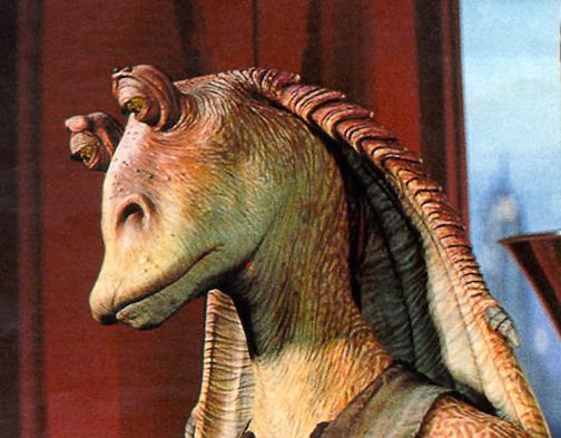 sad jar jar binks