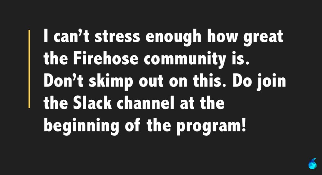 the firehose community
