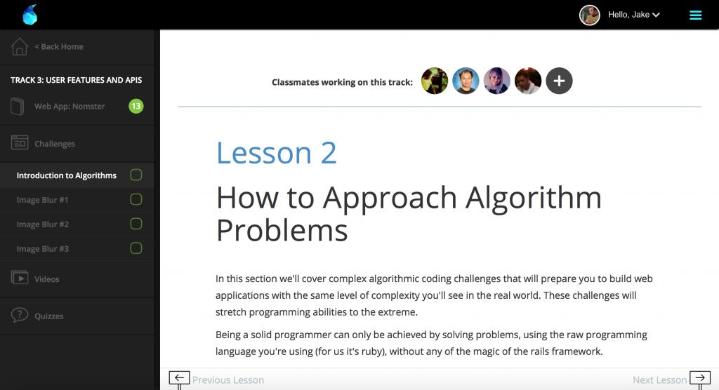 Algorithms-sidenav