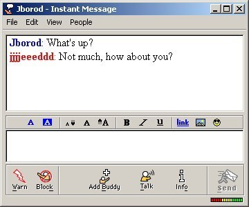 AOL Message