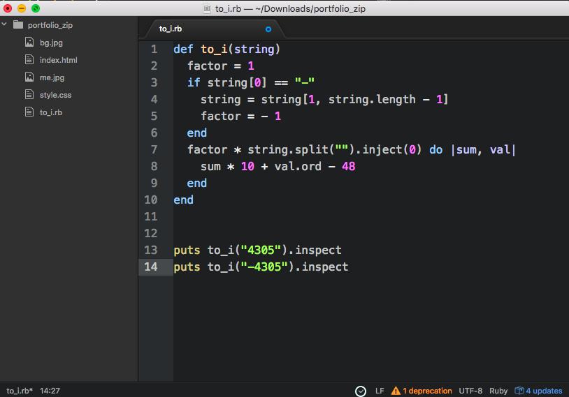 Atom text editor