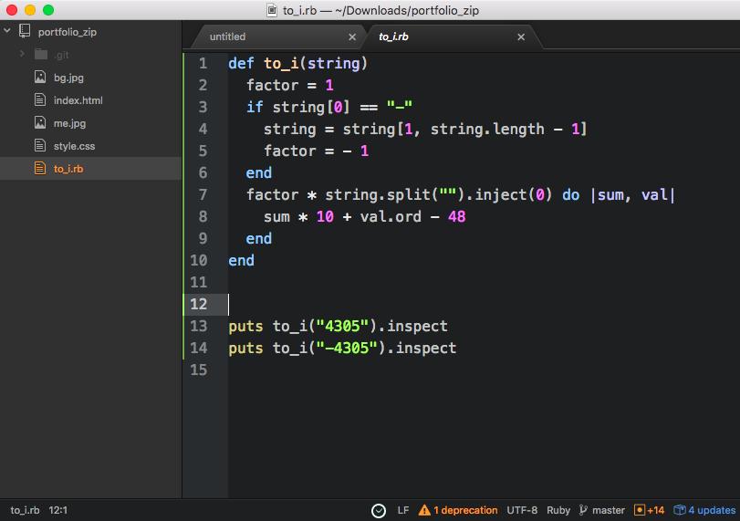 Atom text editor 2